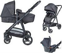 Born Lucky - Combi Kinderwagen - Rapido - Black Limited Edition