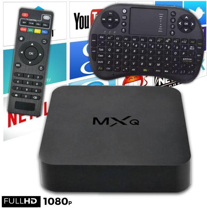 Stuff Certified MXQ HD TV Box Mediaspeler Android Kodi 1GB RAM 2GB Opslagruimte + Draadloos Toetsenbord Mediaspeler kopen?   Kieskeurig.nl   helpt