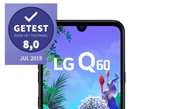 LG Q60 – getest door het testpanel
