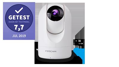 Foscam r4m – getest door het testpanel