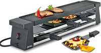 Spring compact raclette, 4-persoons zwart