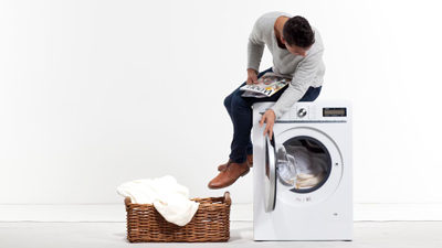 onderzoek: wassen en drogen