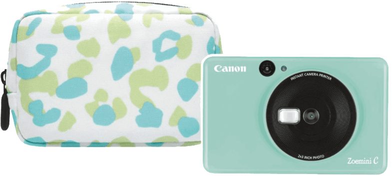 Canon Instant camera Zoemini C Essential kit Mint Green