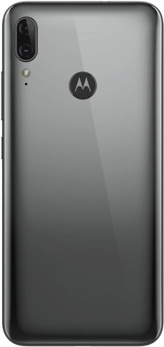 Motorola E6 Plus Polished Graphite
