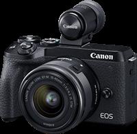 Canon EOS M6 Mark II + EF-M15-45mm + EVF-DC2