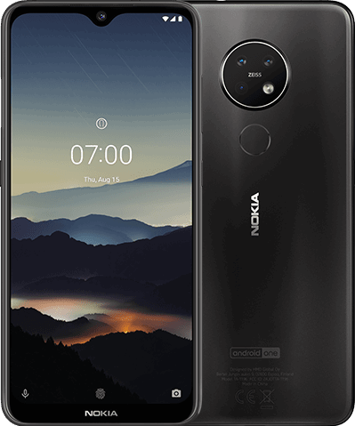 Nokia 7.2 128 GB / charcoal