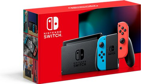 Nintendo Switch (New revised model) zwart, blauw, rood