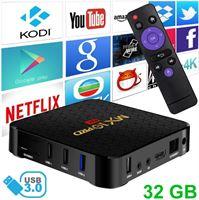 Stuff Certified MX10 Pro 6K TV Box Mediaspeler Android 9 0 Kodi - 4GB RAM - 32GB Opslagruimte