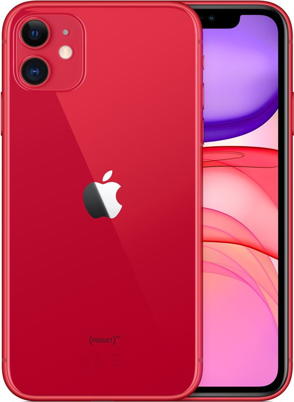 Apple iPhone 11 256 GB / rood / (dualsim)