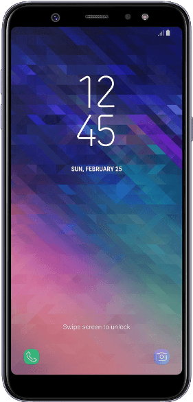 Samsung Smartphone Galaxy A6+ 32 GB Lavender Pack Proximus