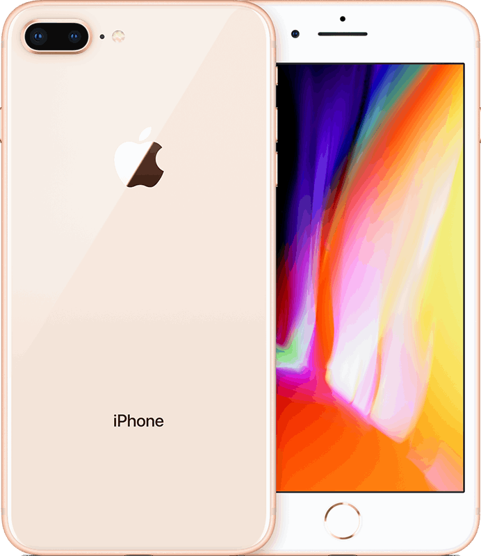 Apple iPhone 8 Plus 128 GB / goud