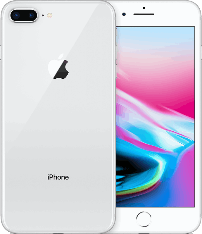 Apple iPhone 8 Plus 128 GB / zilver