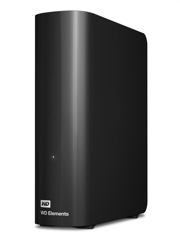 Western Digital WD Elements Desktop 3.5 Inch Externe HDD, 3TB