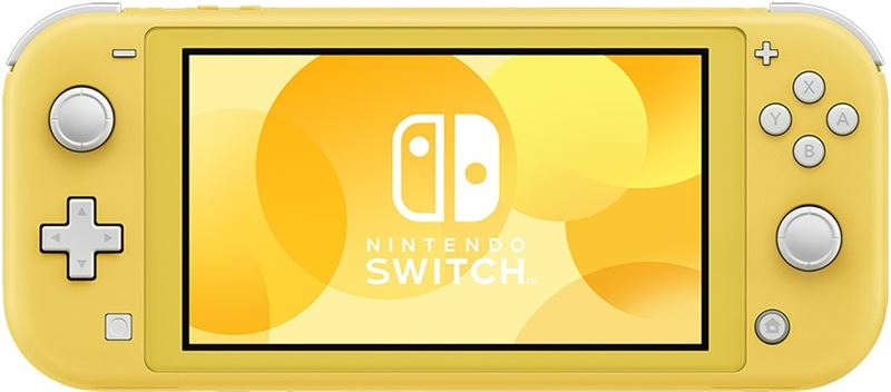 Nintendo Switch Lite geel