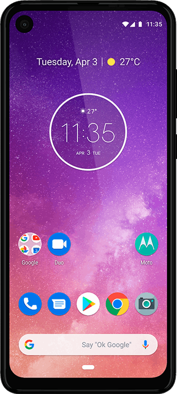 Motorola one 128 GB / brons