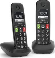 Gigaset E290E Duo - zwart - 2 stuks