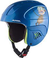 Alpina Carat Skihelm Kinderen, blue-monkey 54-58cm 2019 Ski & Snowboard helmen