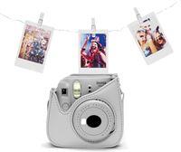 Fujifilm Instax Mini 9 instant camera Smokey White Bundel