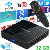 Stuff Certified Transpeed 4K TV Box Mediaspeler Android Kodi - 4GB RAM - 32GB Opslagruimte