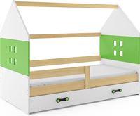 Perfecthomeshop Kinderbed Huisje Hout & Groen