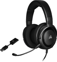 Corsair Gaming headset HS45 Surround Carbon