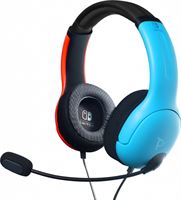 PDP lvl 40 wired stereo gaming headset (blue / red)