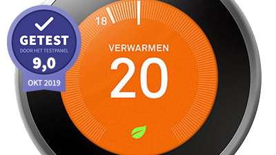 Nest Learning Thermostat – getest door het testpanel