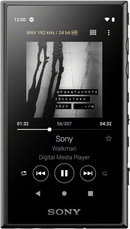Sony NW-A105 Walkman - Hi-Res Audio MP3-speler - 16GB - Zwart