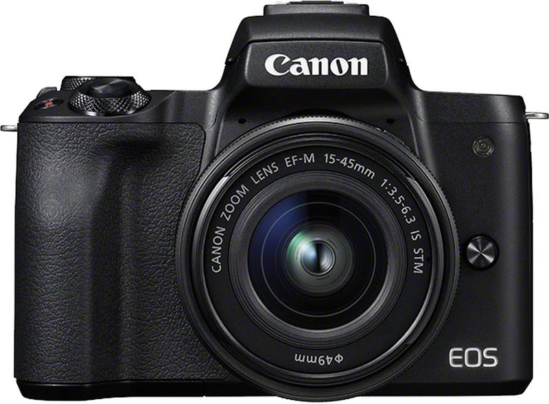 Canon EOS M50 + EF-M 15-45mm f/3.5-6.3 IS STM Kit zwart