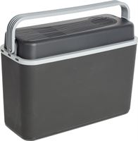 Bo-Camp Autokoelbox Arctic - 12 volt - 12 Liter - Zwart/Grijs Compacte koelbox, ideaal voor onderweg