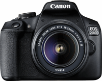 Canon EOS 2000D BK 18-55 IS + SB130 +16GB EU26