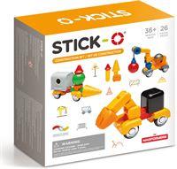 Stick-O Constructieset - Magnetisch bouwspeelgoed - 26 onderdelen Ontdek de magie van dit magnetische speelgoed!