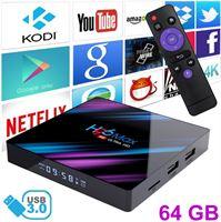Stuff Certified H96 Max 4K TV Box Mediaspeler Android Kodi - 4GB RAM - 64GB Opslagruimte