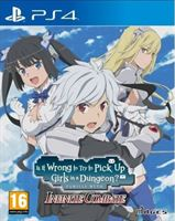 PQube Is It Wrong to Try to Pick Up Girls in a Dungeon? Infinite Combate
