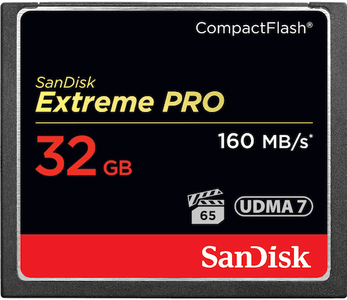 Sandisk 32GB Extreme Pro CF 160MB/s