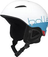 Bollé B-Style Matte White Blue 58-61 cm Skihelm Unisex - White