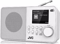 JVC DAB radio F39W-DAB (Wit)