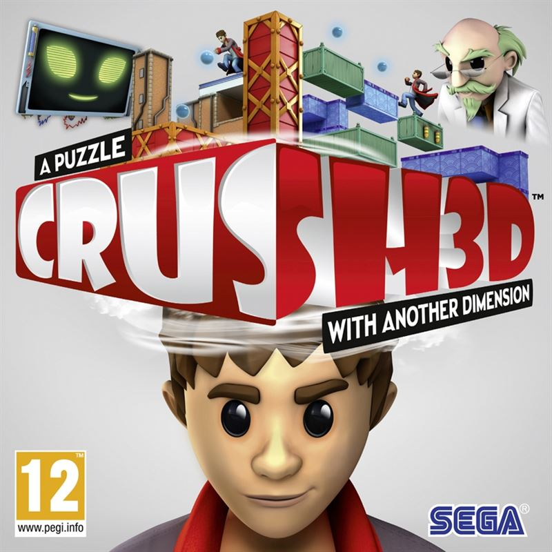 Sega CRUSH 3D, 3DS Nintendo 3DS