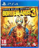 2K Games Borderlands 3 Super Deluxe Edition PS4
