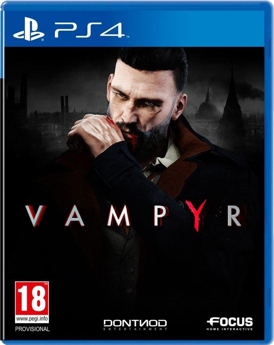 Focus Home Interactive Vampyr PlayStation 4