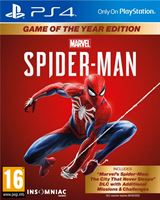 Sony Marvel's Spirder-Man GOTY NL/FR PS4