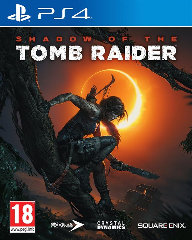Square Enix Shadow of the Tomb Raider NL/FR PS4 PlayStation 4