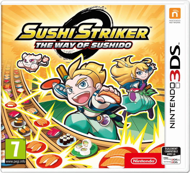 Nintendo Sushi Striker: The Way of Sushido FR 3DS