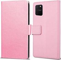 qMust Samsung Galaxy S10 Lite Wallet Hoesje Roze roze