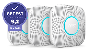 google nest protect – getest door het testpanel