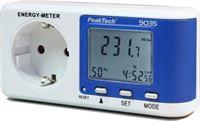 Peaktech 9035 Energiemeter met een resolutie van 0,1 W