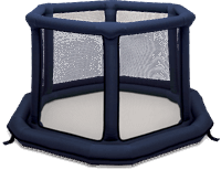EVEREARTH Inflatable Playard