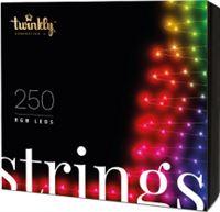 Twinkly Twinkly kerstverlichting - 23.5 meter (250 LEDs, Wifi, Timer, Muzieksensor, Binnen/Buiten)
