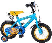 Volare Disney Toy Story Kinderfiets - Jongens - 12 inch - Blauw/Geel