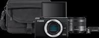 Canon Hybride camera EOS M200 Zwart Travel Kit